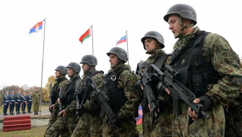 Сербские военные заявили о готовности выполнять антитеррористические задачи совместно с РФ и Беларусью