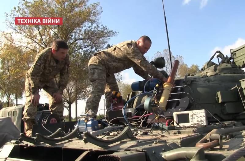 В Харькове создан газодетонационный танковый миномёт