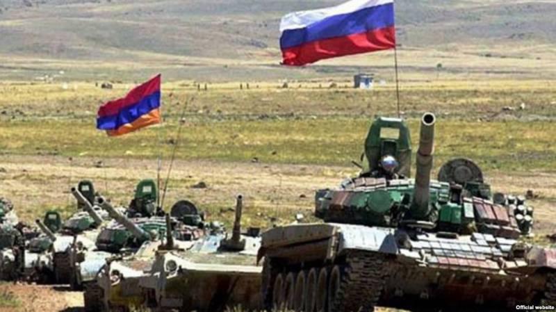Россия и Армения создают объединённую группировку войск на Кавказе