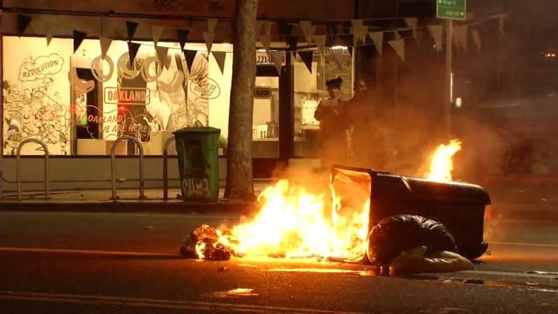 В городах США проходят акции протеста после оглашения результатов выборов президента