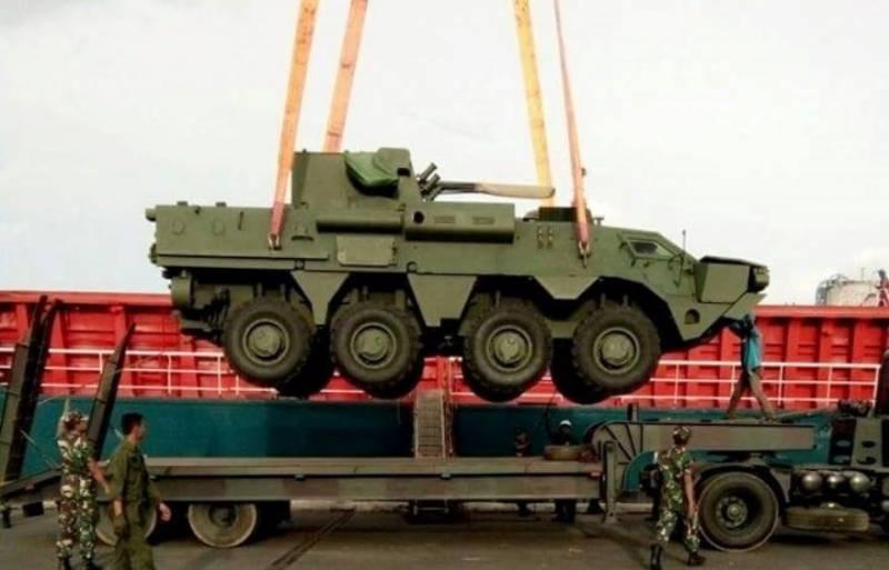 Украина предложила Индонезии лицензионное производство БТР-4М