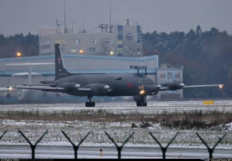 В Жуковском проводятся испытания очередного модернизированного Ил-38Н