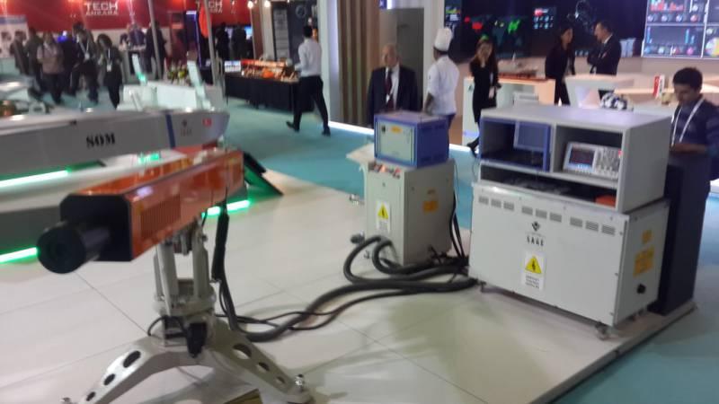 Турецкие разработчики представили электромагнитную пушку SAPAN