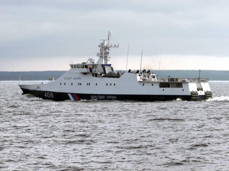 Завершены госиспытания нового сторожевого корабля для российских пограничников