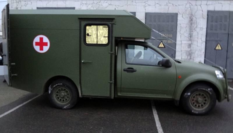 «Богдан-2251» – санитарная машина для украинской армии
