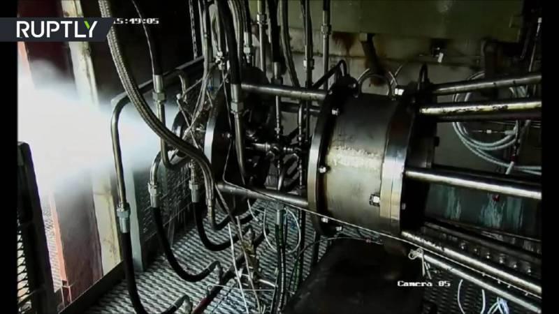 В России испытан новый детонационный ракетный двигатель (видео)