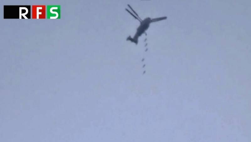 Сирийцы превратили Ка-28 в бомбардировщик