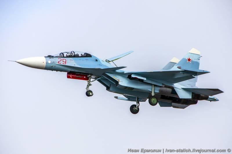 Многоцелевой истребитель Су-30. Производство, поставки и эксплуатация