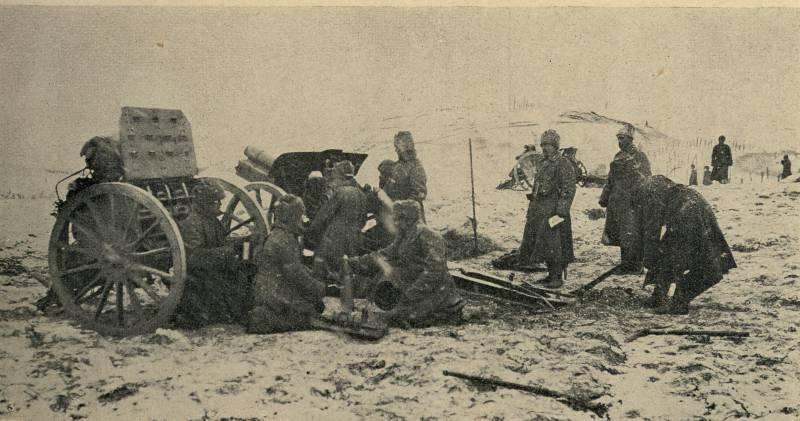 122-мм палочка-выручалочка, или Лёгкая гаубица как фактор победы в Огнотской операции