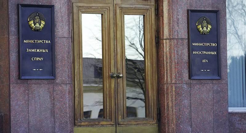 МИД Беларуси ответил на обвинения киевских властей о «ноже в спину»