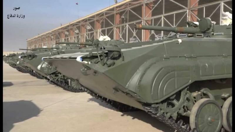 Болгария поставила Ираку очередную партию БМП-1