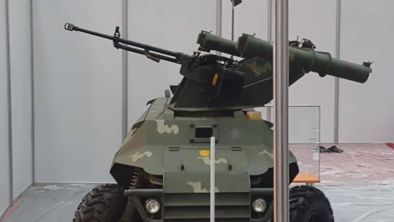 Дистанционно управляемая боевая машина Al-Robot (Ирак)