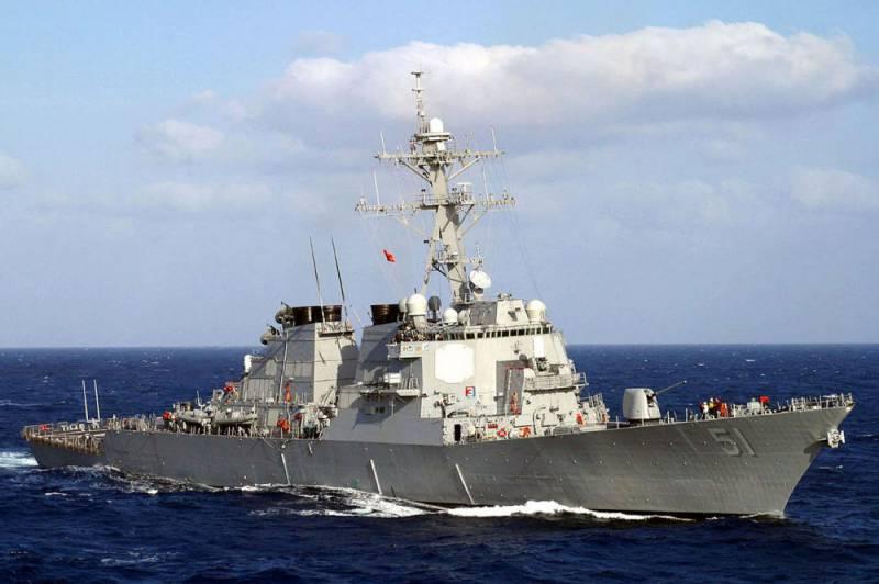 """В США спущен на воду очередной эсминец типа """"Арли Бёрк"""""""