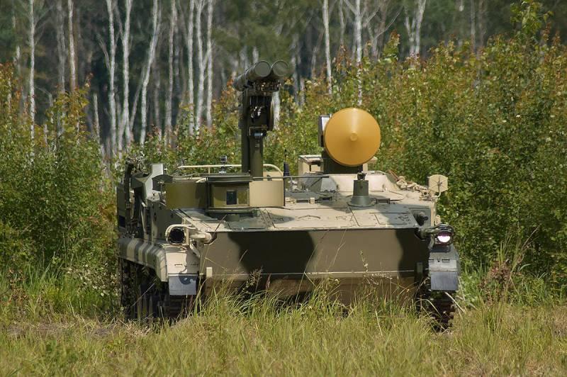 В РФ будет разработан новый самоходный противотанковый комплекс