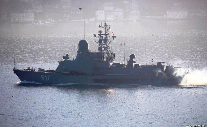 МРК «Мираж» вернулся из Восточного Средиземноморья