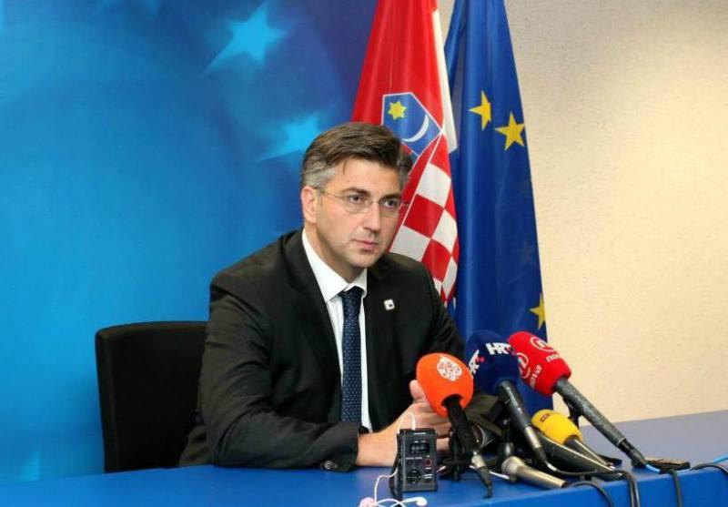 """Хорватский премьер пообещал Киеву помочь с """"реинтеграцией оккупированных территорий"""""""