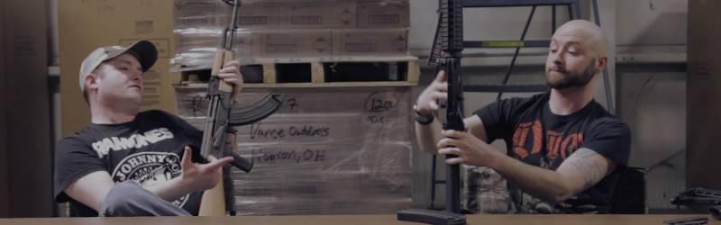 AK vs AR. Часть IV