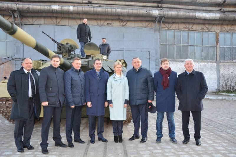 ВСУ получили партию восстановленных Т-84