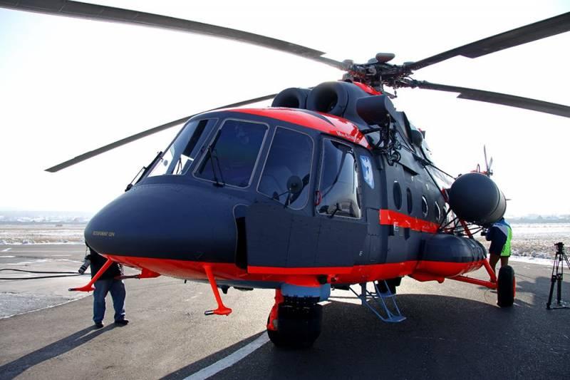 ВМФ РФ получил первый арктический Ми-8АМТШ-ВА