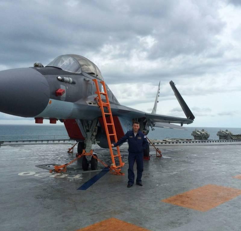 СМИ: потеря МиГ-29КР в Средиземном море не связана с неисправностью самолёта