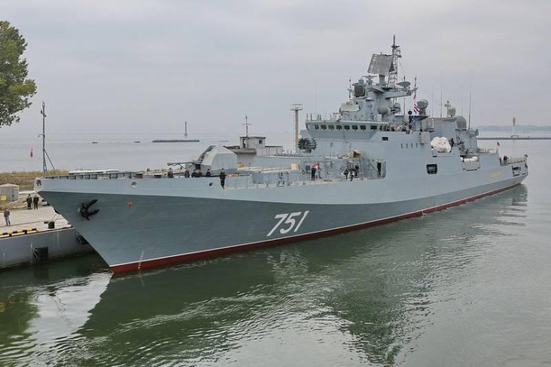 «Адмирал Эссен» встал на ремонт из-за повреждения винтовой группы