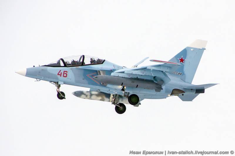 Из Иркутска в Армавир направились еще три учебно-боевых Як-130