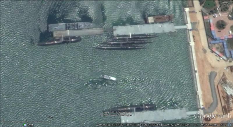 Оборонный потенциал КНР на свежих снимках Google earth. Часть 2-я