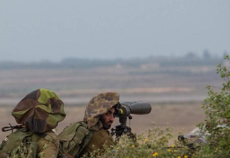 Израильская авиация нанесла удар по боевикам ИГИЛ в Сирии
