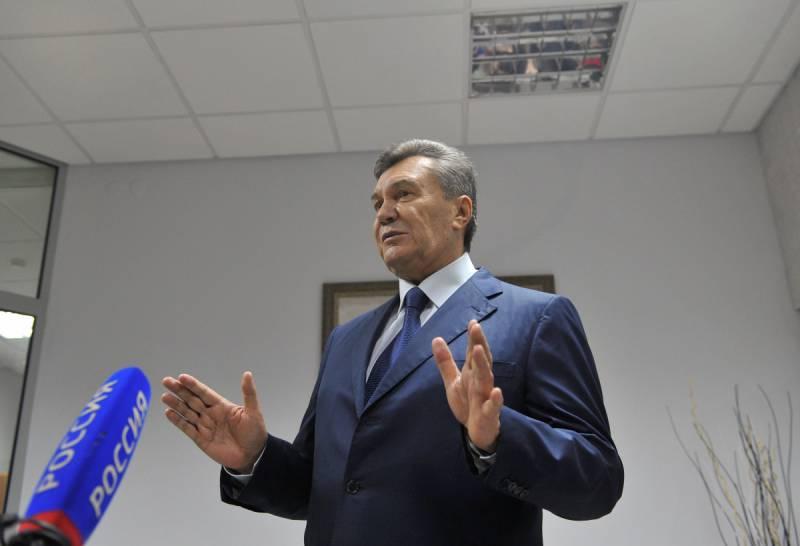 Вторая попытка видеодопроса Виктора Януковича