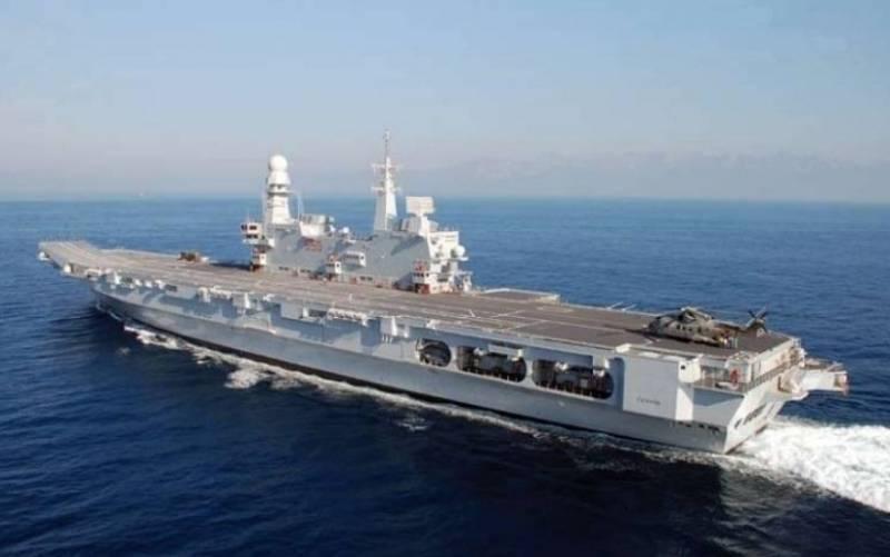Италия наращивает мощь своего флота