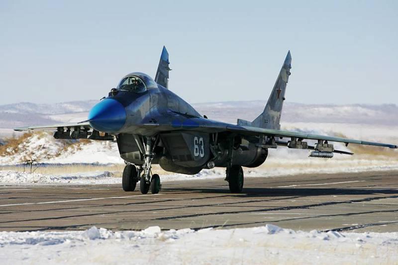 В ЦБП ВКС РФ Астраханской области поставлено звено новых МиГ-29СМТ