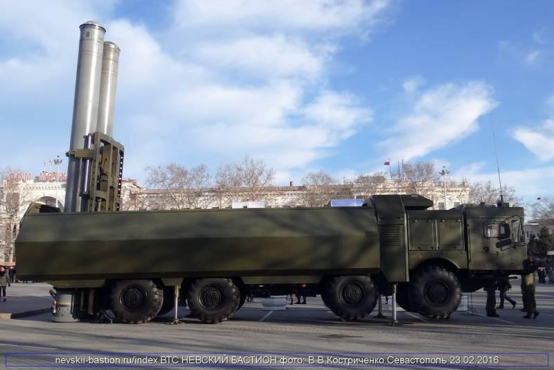 СМИ: в Крым прибыли новые «Бастионы» взамен тех, что были переброшены в Сирию