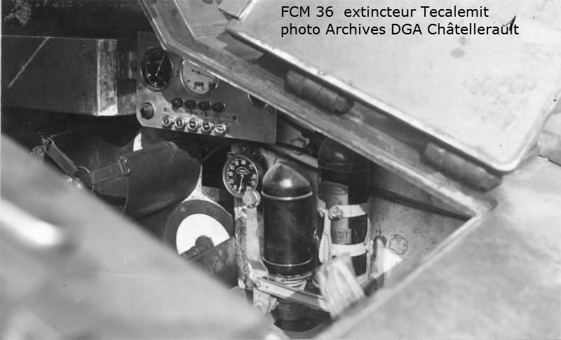 法国轻型坦克支持FCM 36