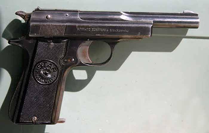 Пистолеты модели «СТАР» - «испанские кольты»