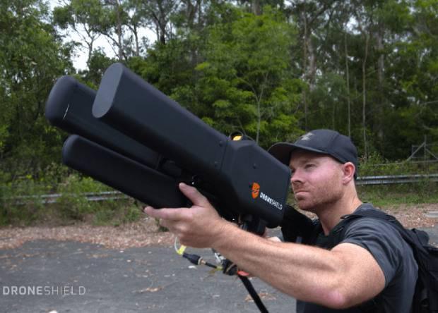 Компания DroneShield представила пушку-антенну для обезвреживания беспилотников