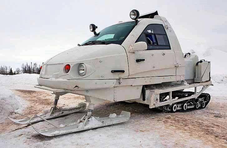 Минобороны получило партию снегоходов «Беркут» для арктической группировки