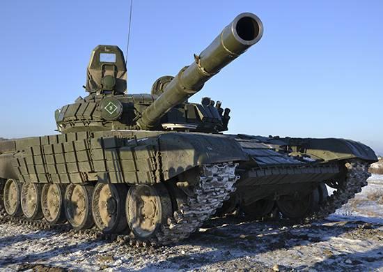 Экипажи танковой дивизии ЦВО испытают лазерный имитатор стрельбы