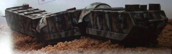 Projetos de tanques articulados Boirault Train Blindé (França)