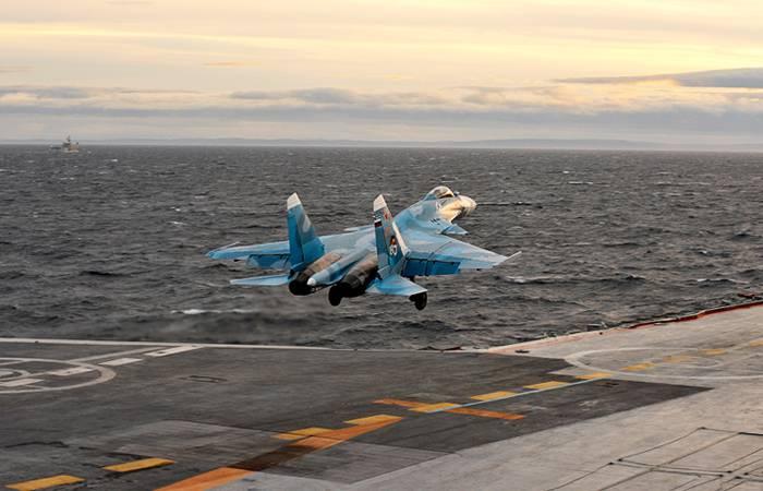 В перспективной программе ВМФ присутствуют морские авианесущие комплексы