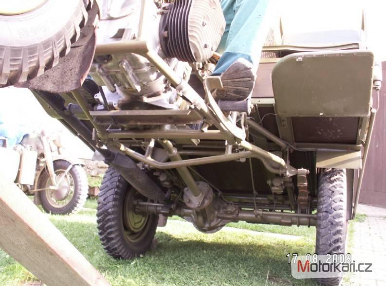 Многофункциональный трицикл FN Tricar (Бельгия)