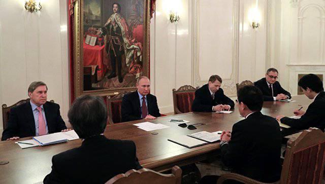 Владимир Путин и глава японского МИД обсудили вопрос мирного договора