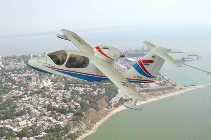 Учебный проект: в Таганроге идет работа над новым самолетом-амфибией