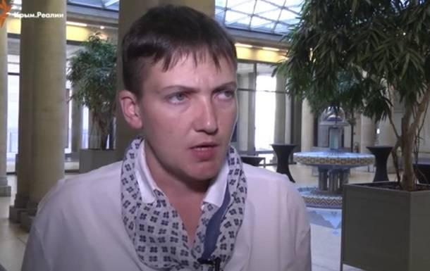 """Савченко: """"Если проявить мягкость по отношению к РФ, она дойдёт до Британии"""""""