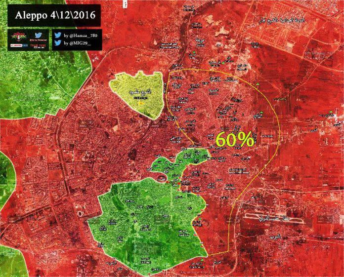 СМИ: Лондон и Вашингтон обсуждали доставку боевикам в Алеппо грузов по воздуху