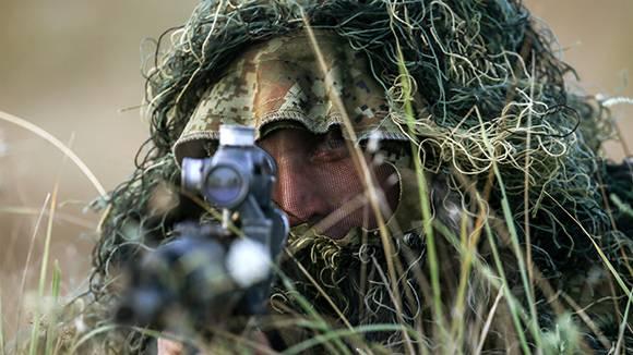 Российский спецназ оснастят специальной маскировочной пастой