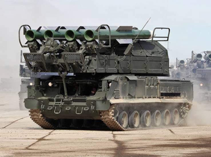 В Бурятии сформирована новая зенитная бригада, имеющая на вооружении ЗРК «Бук-М2»