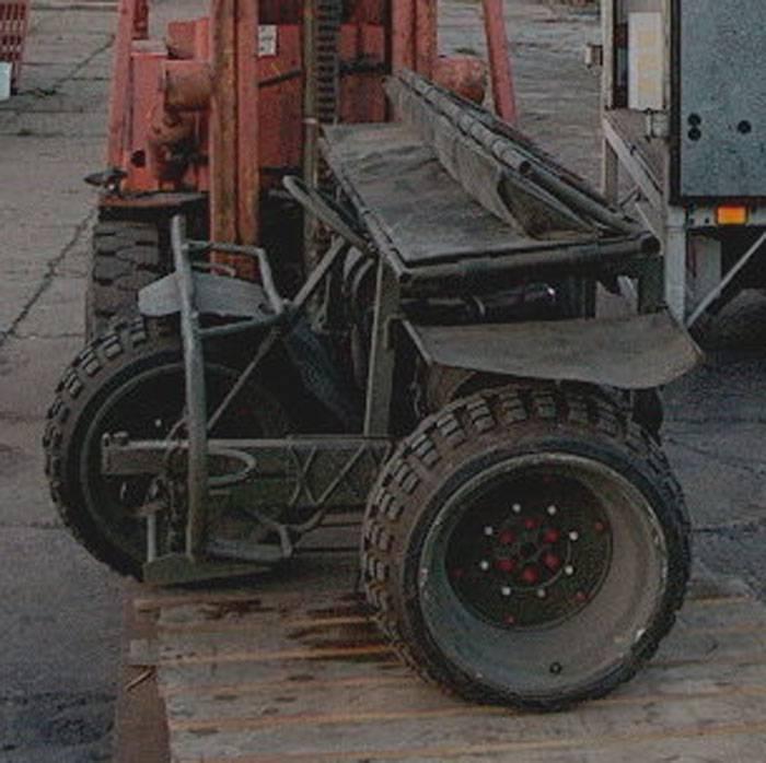 Десантный трицикл FN AS 24 (Бельгия)