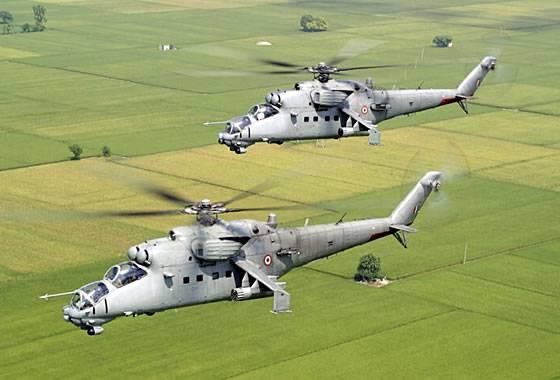 Индия передала Афганистану четвертый Ми-25