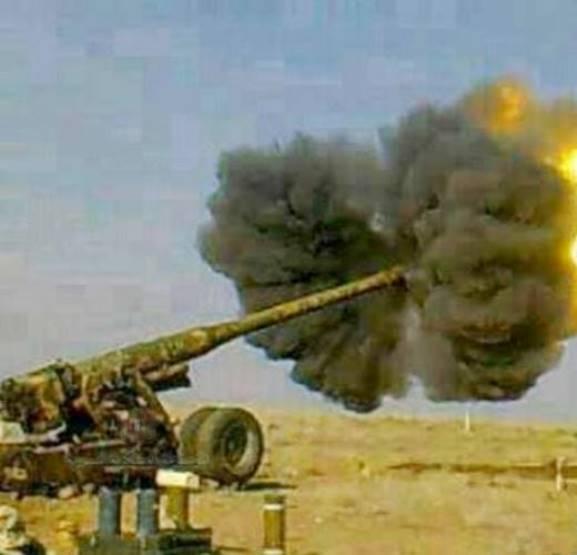 В Сирии продолжают воевать 180-мм пушки С-23