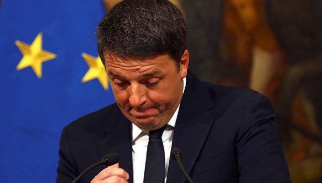 Фокусник Ренци подставил хозяев. ЕС не справится с итальянским шоком